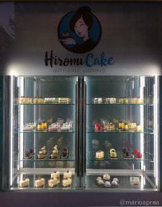Hiromi Cake vetrina