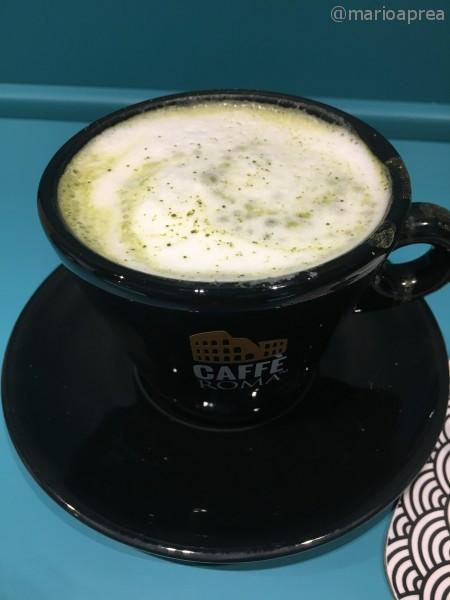 cappuccino al matcha